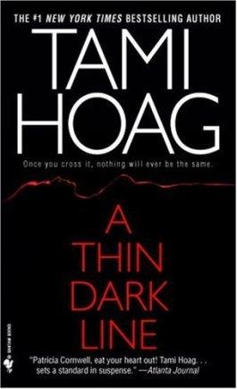 Tami Hoag A Thin Dark Line border=